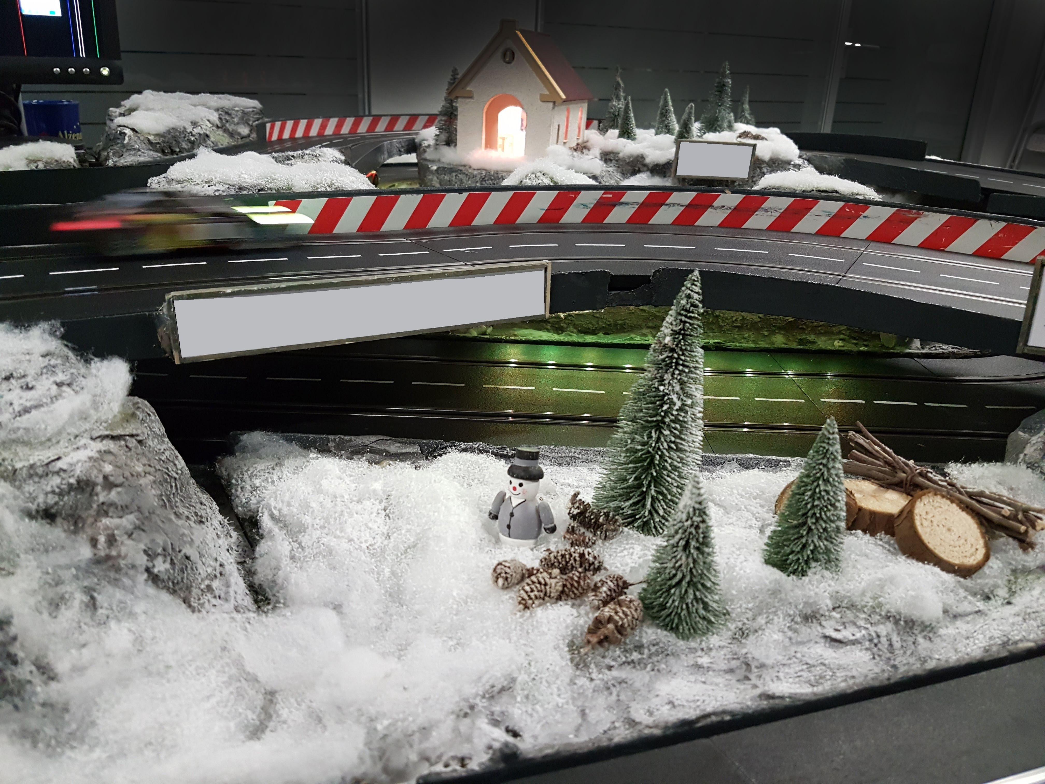 Schneelandschaft Carrerabahn