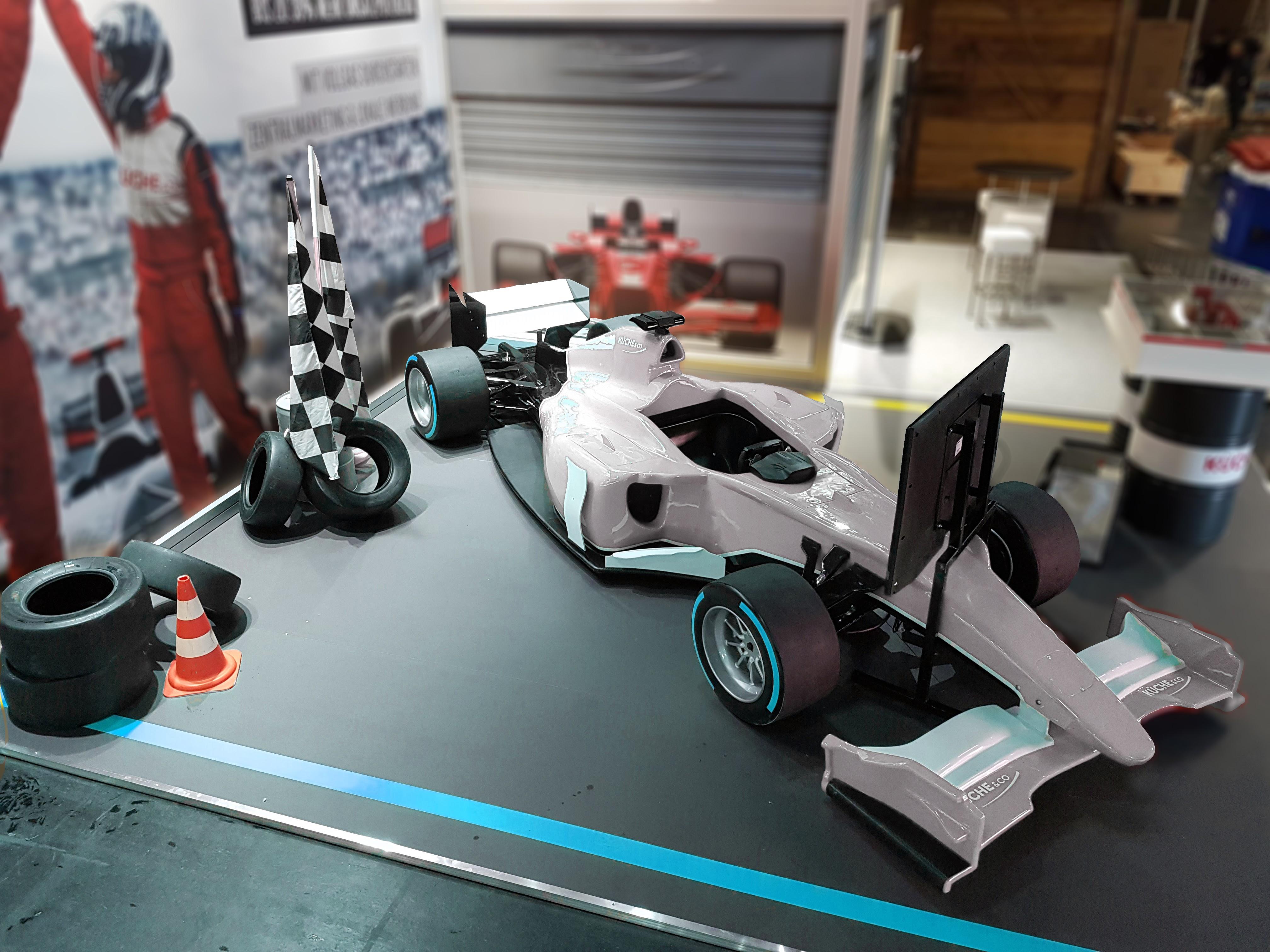 F1 Simulator zum mieten