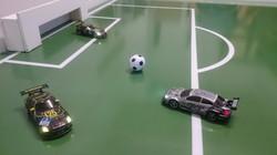Autofußball für Event