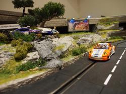 Anfertigung Carrerabahn mit Landschaft