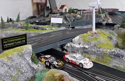 Carrerabahn für 4 Fahrer