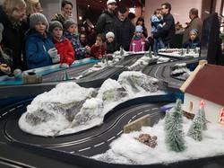 Winterrennbahn für Events