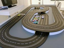 Carrerabahn für Messen mit wenig Platz