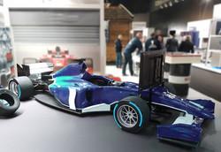 F1 Rennsimulator für Messe mieten