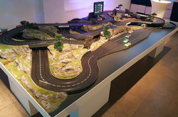 mobile Carrerabahn für 4 Fahrer