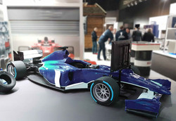 F1 Showcar als Simulator