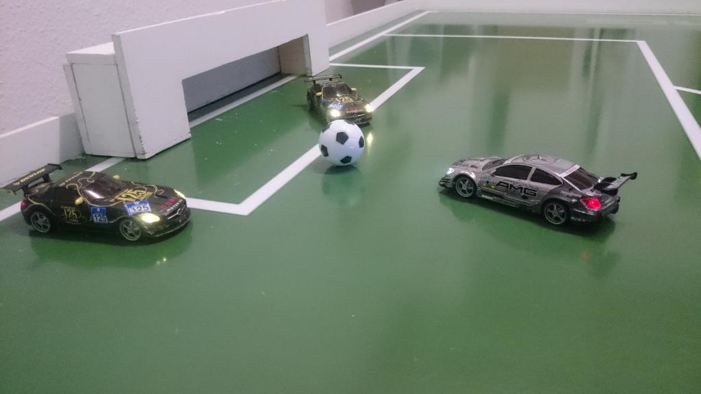 Fußball trifft Motorsport
