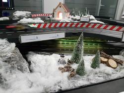 Winterautorennbahn
