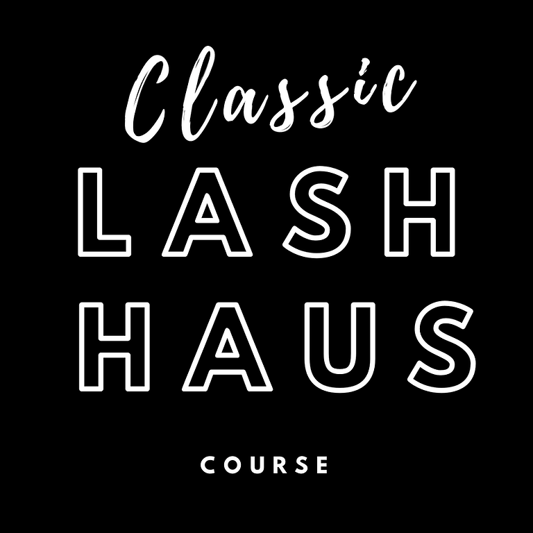 2- Day: Classic Lash Course - (CLASS FULL)