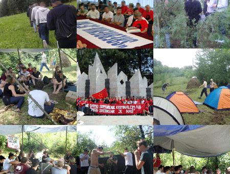 Besuch bei der Partija Rada im Balkan