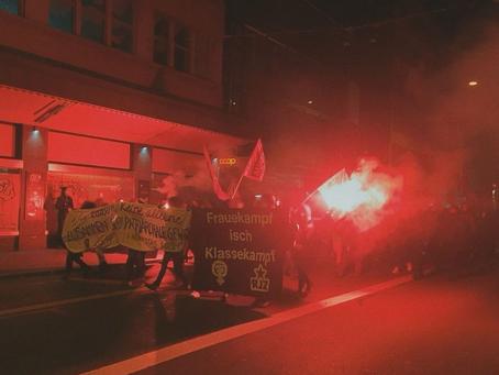 Communiqué zum 25. November in Zürich!