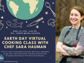 Top Chef Contestant Sara Hauman to Host Earth Day Virtual Cooking Class April 22 to Benefit The Wave