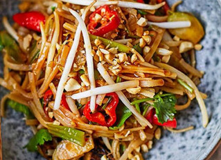 Brussel Sprout Pad Thai