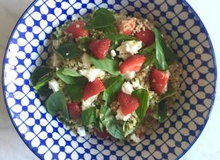 Strawberry & Basil Quinoa