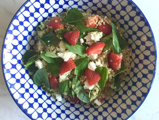 Strawberry & Basil Quinoa