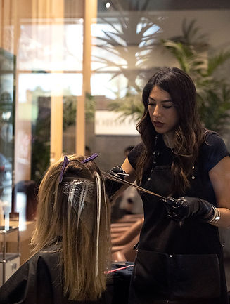 Ilda Flores Los Angeles-based master hair stylist colorist