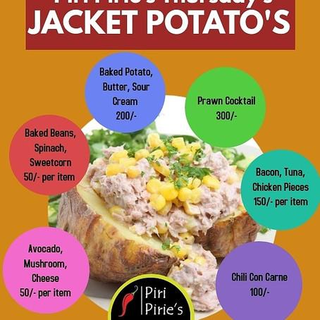 Thursday Baked Potato Day