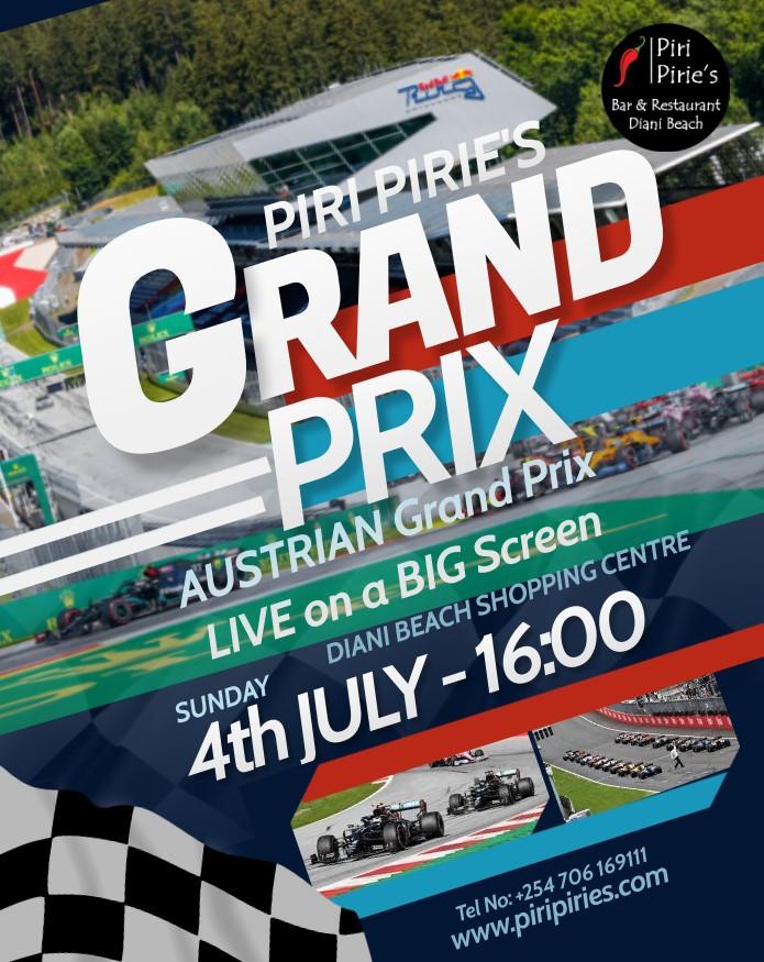 Austrian F1 Sun 4th 16:00