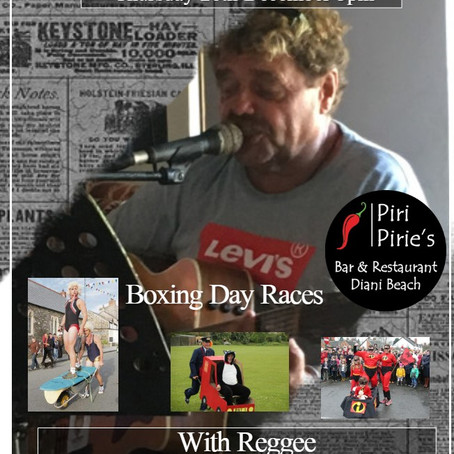Boxing Day with Reggee