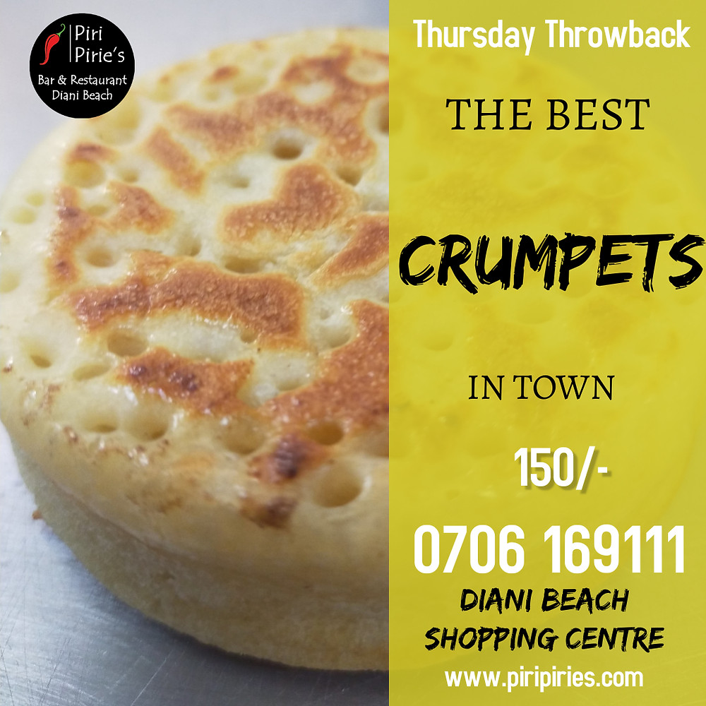 Thursday Crumpets Day