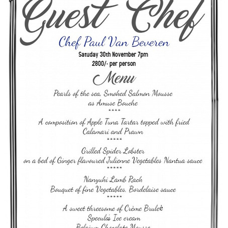 Guest Chef Dinner
