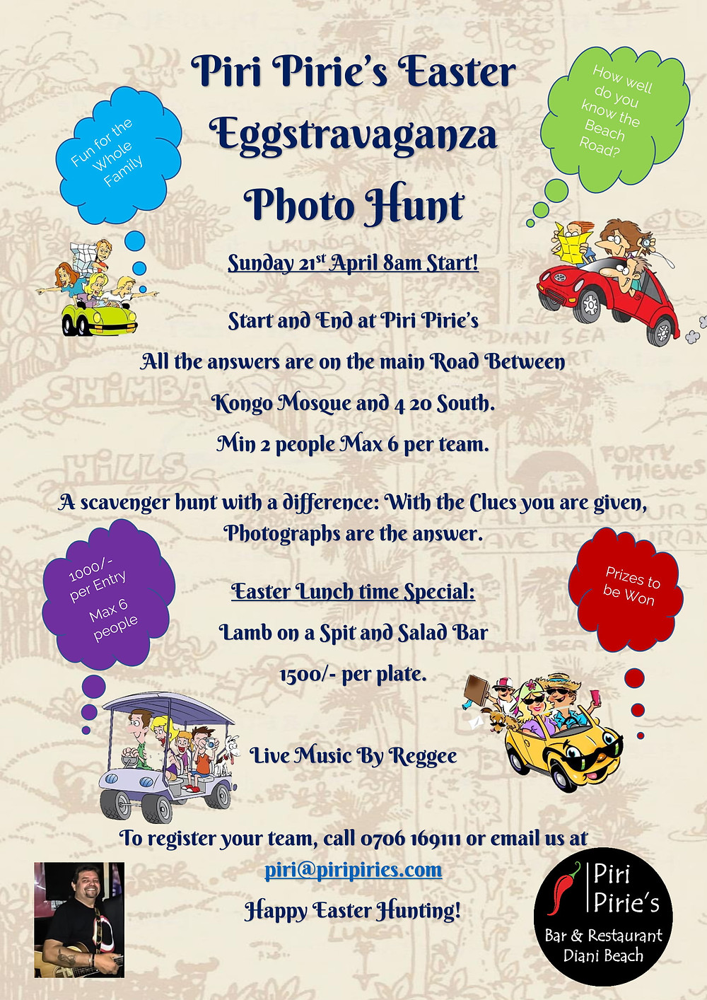 Easter Eggstravaganza Photo Hunt Sun 21st April
