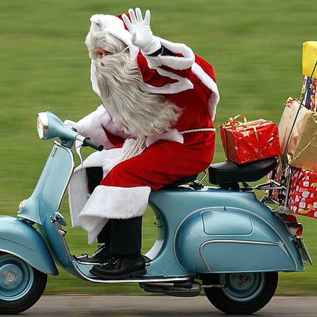 Santa is on his way 5pm Tuesday 24th Dec