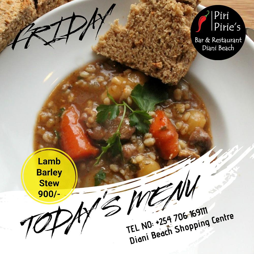 Friday Lamb and Barley Casserole