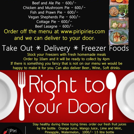Freezer Food orders