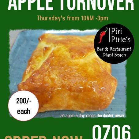 Thursday Fresh Apple Turnovers
