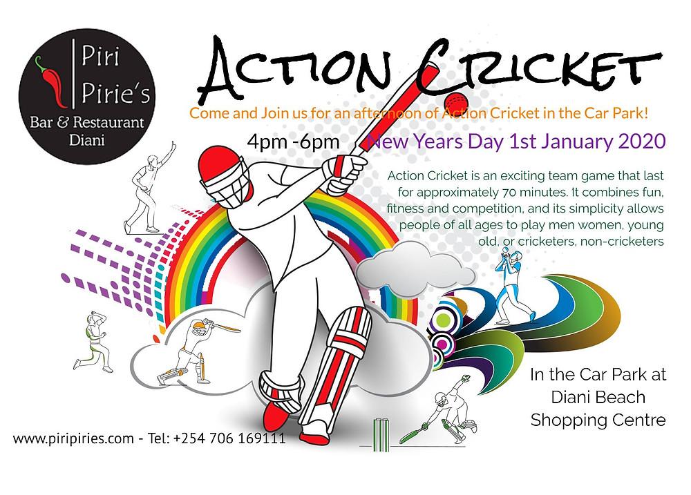 Action Cricket Piri Pirie's Way