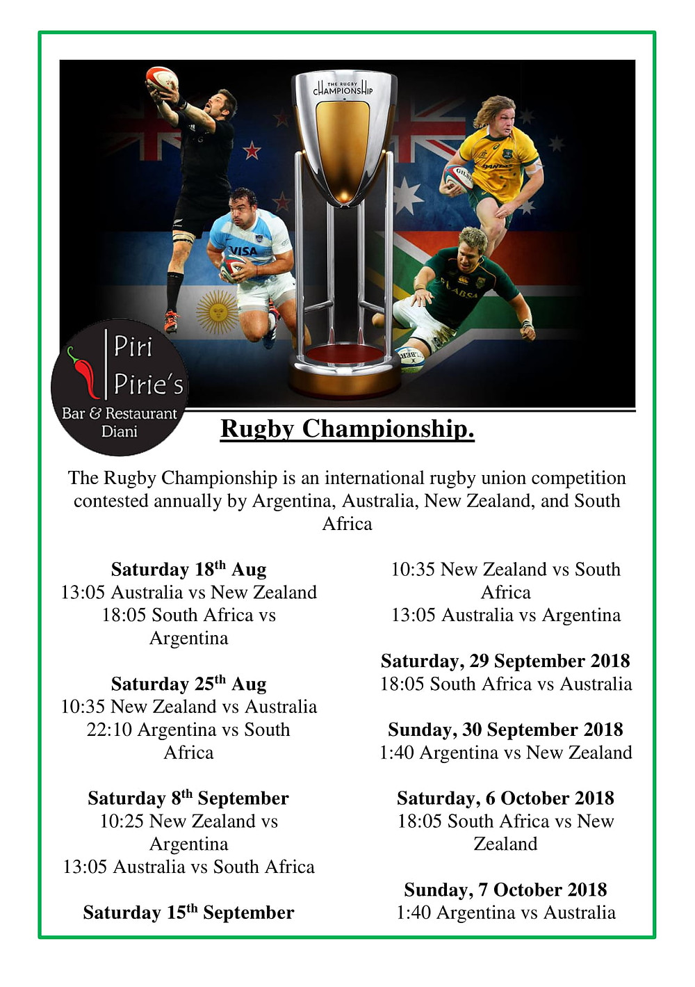 Thr Rugby Championship