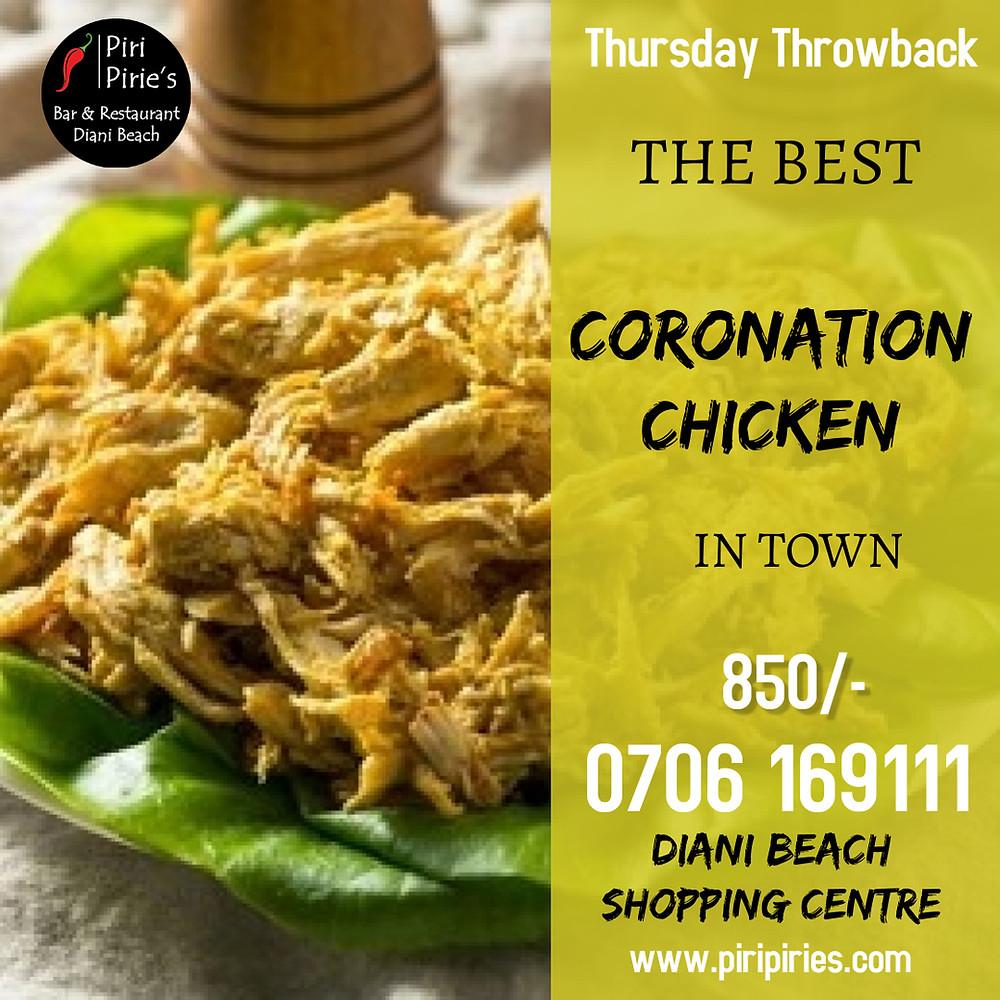 Coronation Chicken 24th June