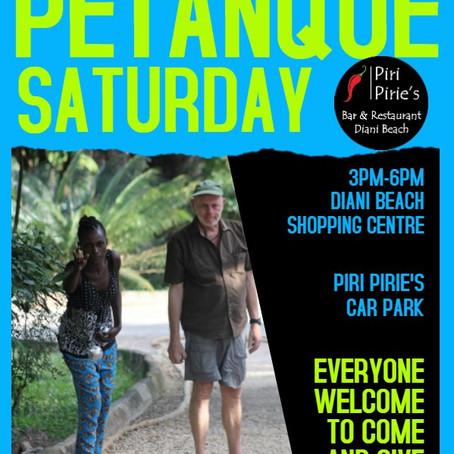 Saturday Petanque