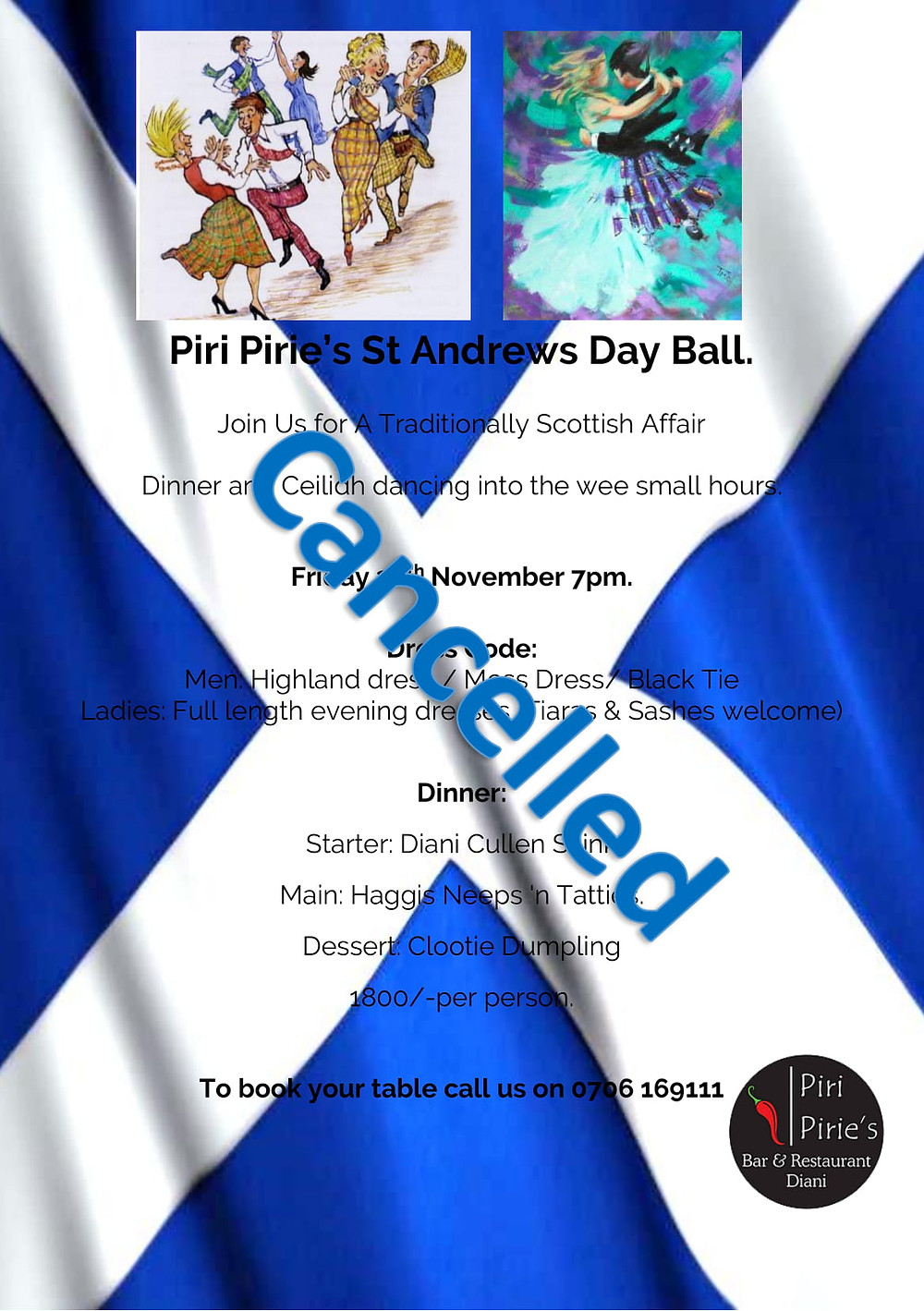 St. Andrews Ball CANCELLED