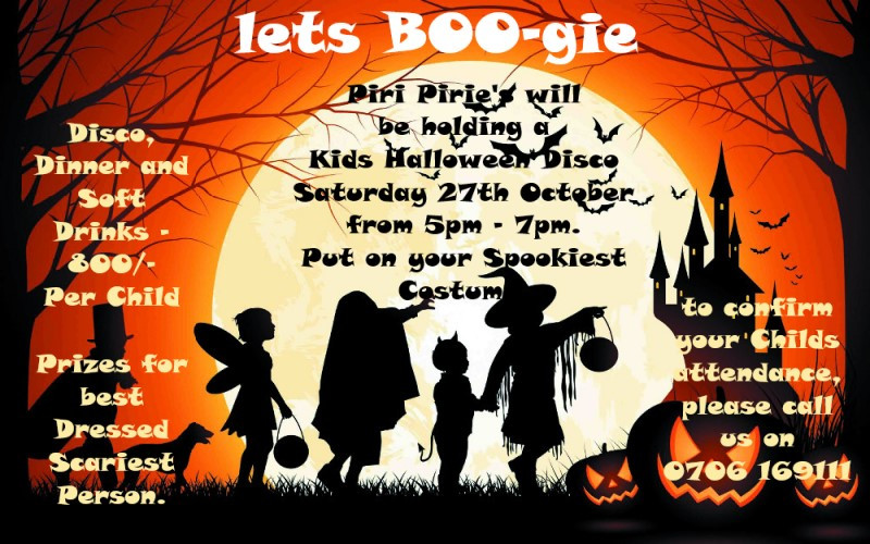 Let's BOO gie Kids Halloween party @Piri Piries