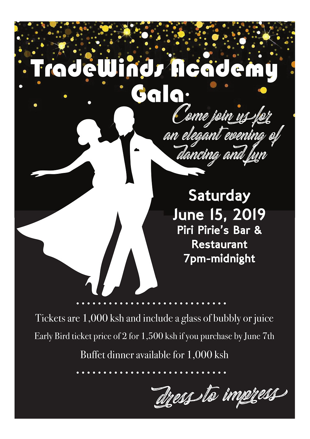 Tradewinds Gala Dinner