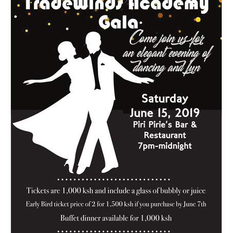 Tradewinds Gala Dinner Dance