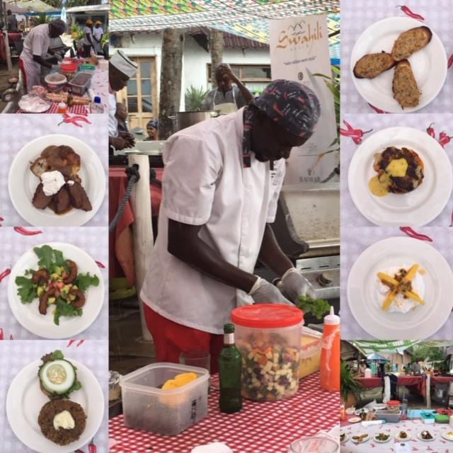 Piri Pirie's goodies at the Food Festival.
