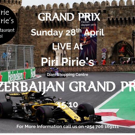 Formula 1 Azerbaijan Grand Prix Live