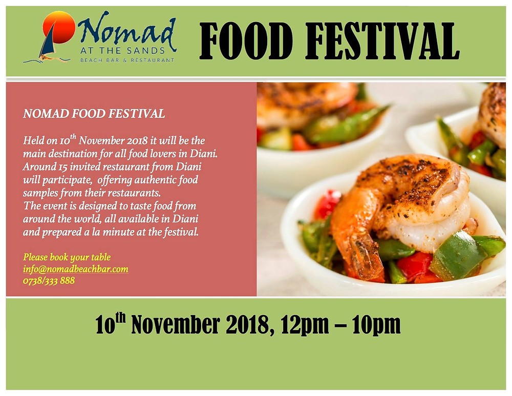 Piri Pirie's will be at the Nomads Food Festival 10th November 12noon onwaards.