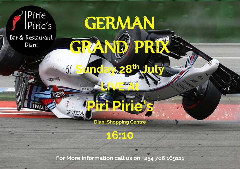 German F1 Live on a Big Screen at Piri Piries