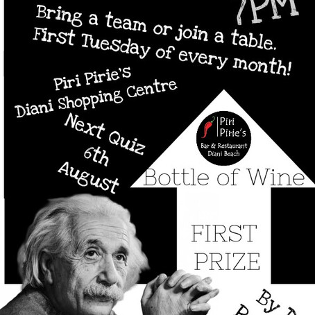 August Quiz Night
