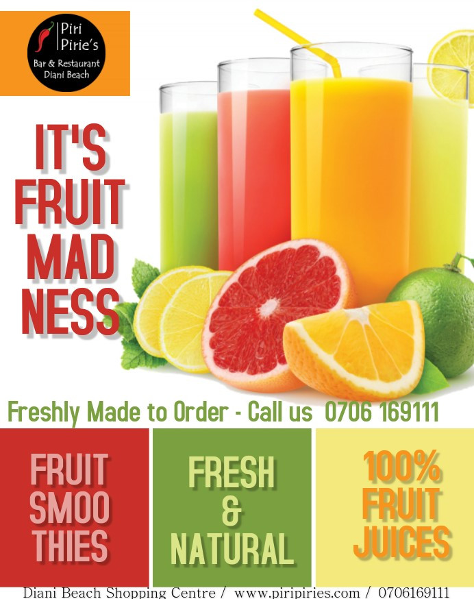 Smoothies and Fresh Juice