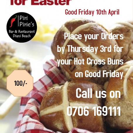 Good Friday specials
