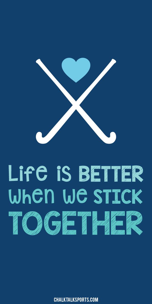 Life is better whenwe stick together.