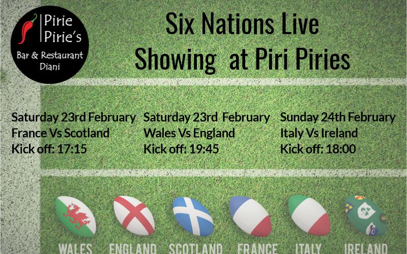 Six Nations Live at Piri Pirie's