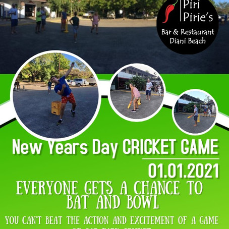 Cricket in the Car Park