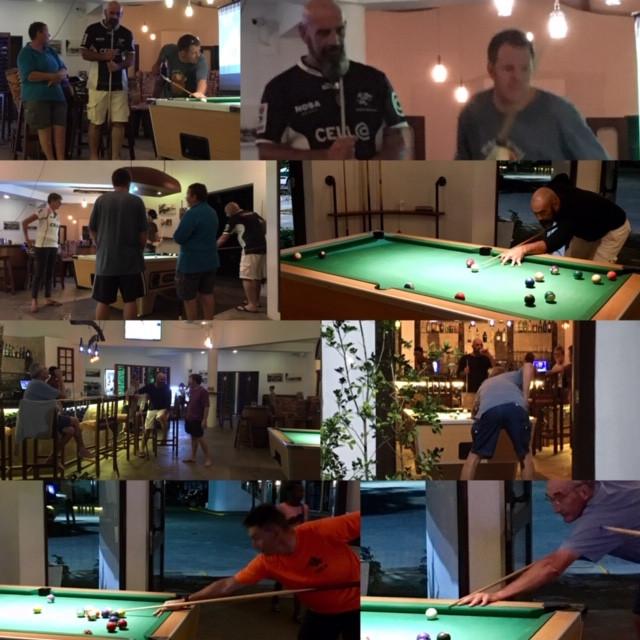 Fun in the Bar Pool Nite,