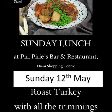 Sunday 12th May Roast